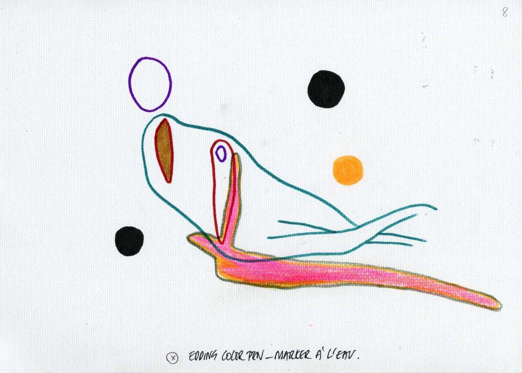 Eén van de voorbeelden gerealiseerd door kunstenares Anne-Mie Van Kerckhoven voor Amel, Melina en de anderen.